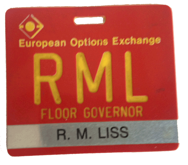 European Options Exchange member Randall Liss